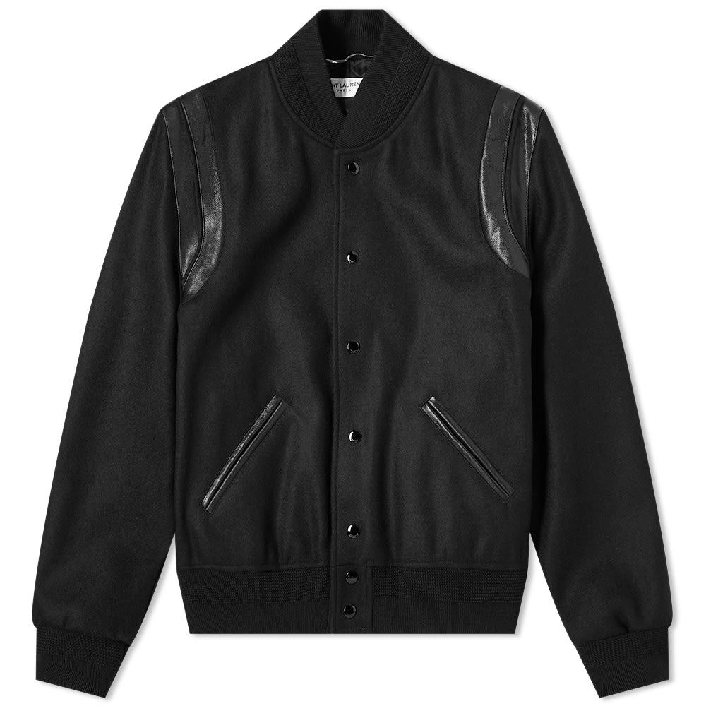 e3301181f Saint Laurent Light Wool Teddy Jacket