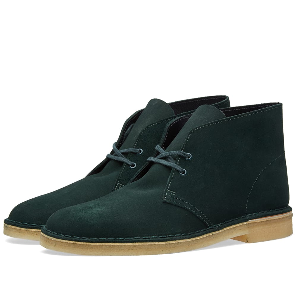 clarks originals desert boot dark green suede. Black Bedroom Furniture Sets. Home Design Ideas