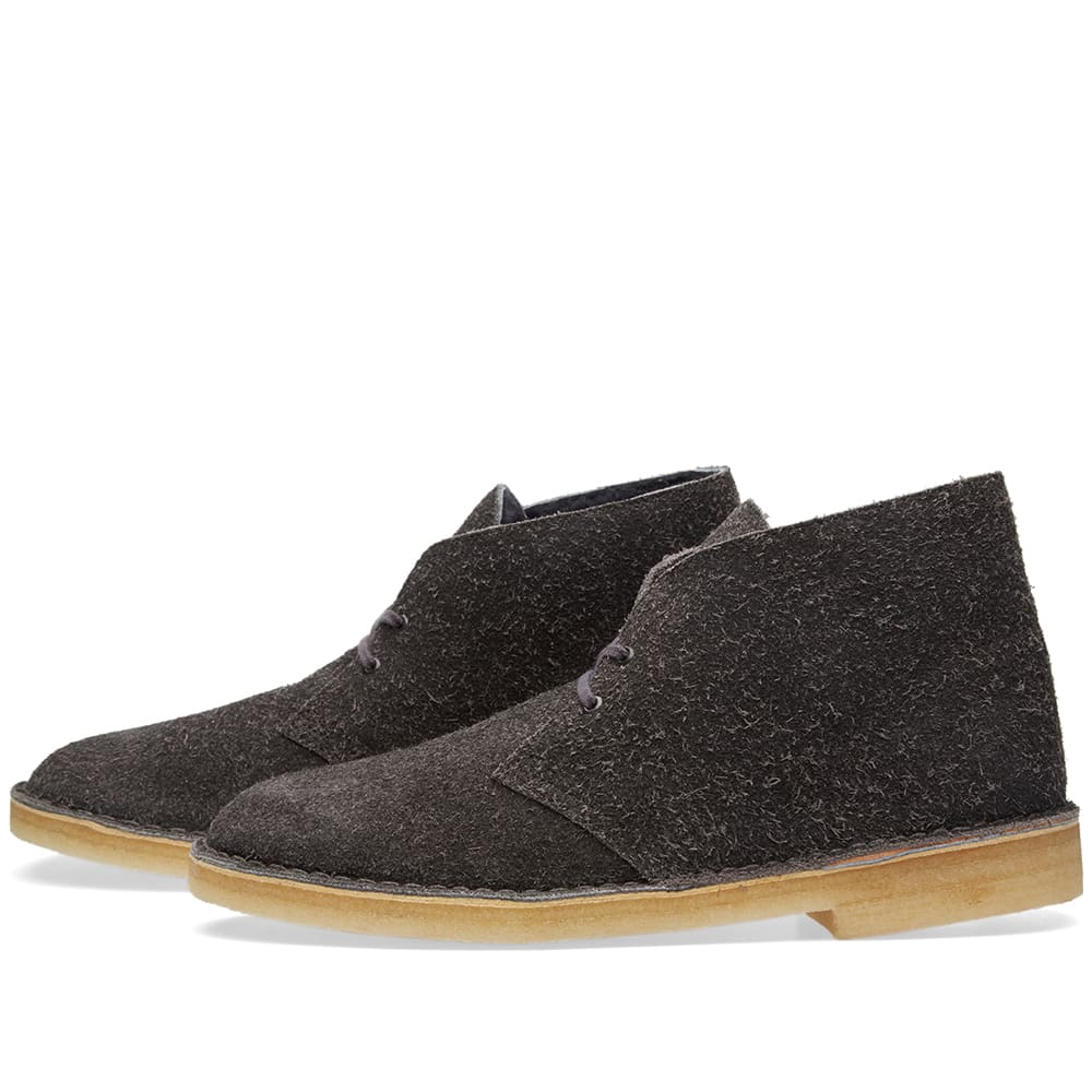 clarks originals desert boot grey lined suede. Black Bedroom Furniture Sets. Home Design Ideas