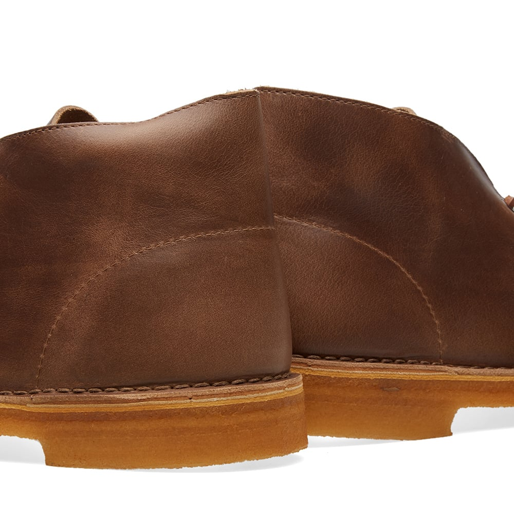 quality design 76a5f e560e Clarks Originals x Horween Leather Co. Desert Boot Camel Leather   END.