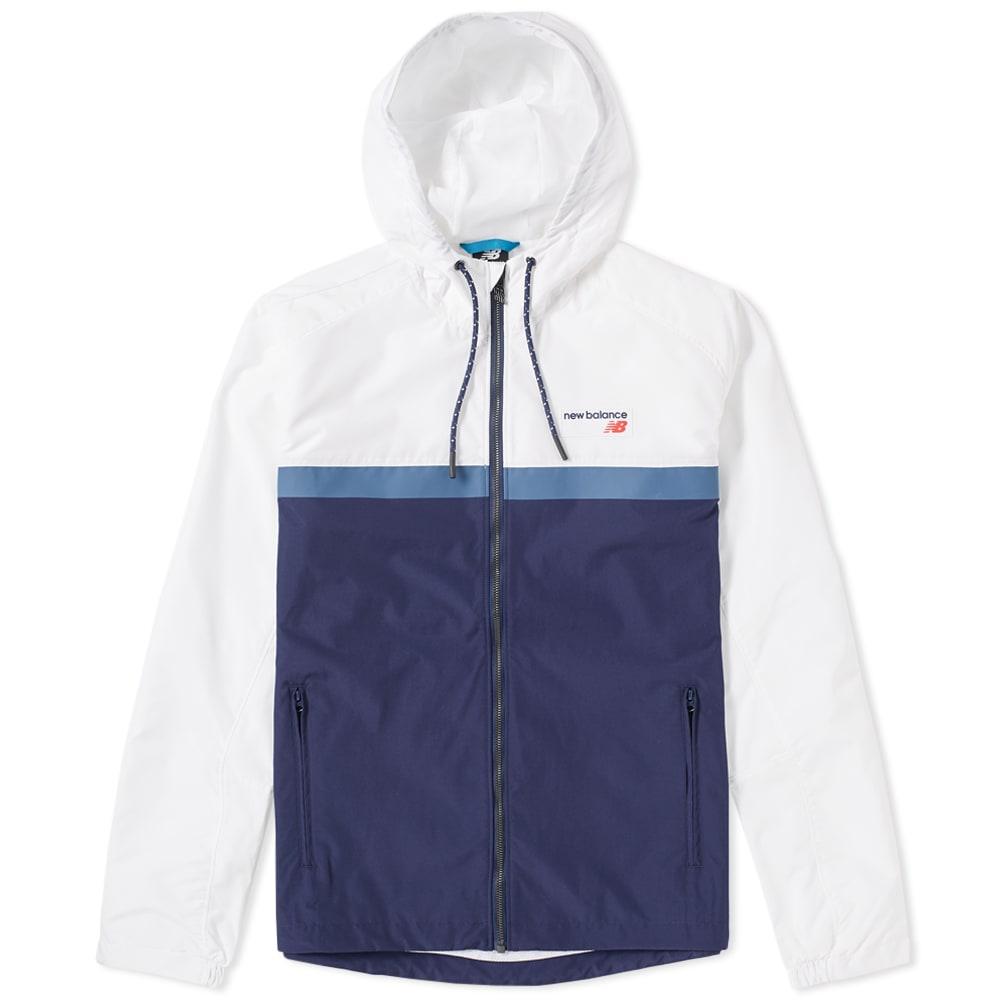 11a240bd9 New Balance Athletics '78 Jacket White & Navy | END.