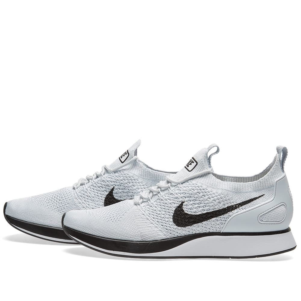 718d5f9be8cd68 Nike Air Zoom Mariah Flyknit Racer Pure Platinum   White