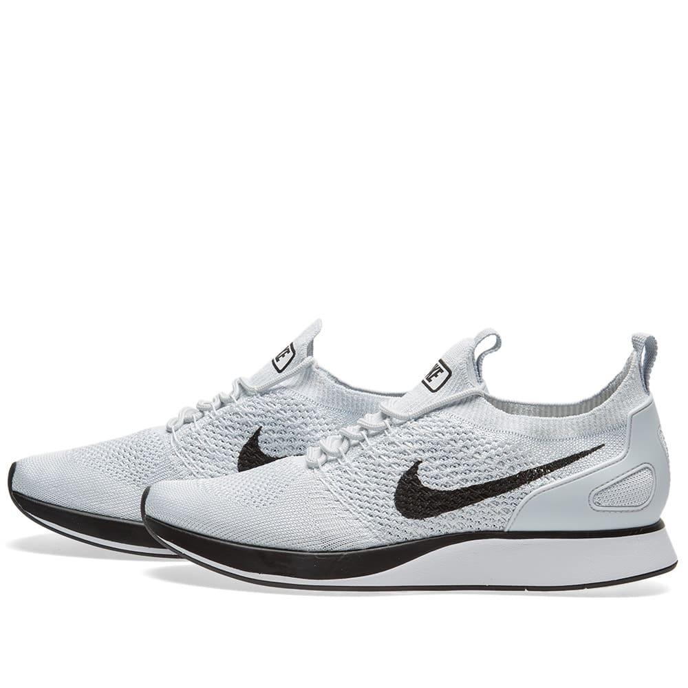 8ec6cae9534 Nike Air Zoom Mariah Flyknit Racer Pure Platinum   White