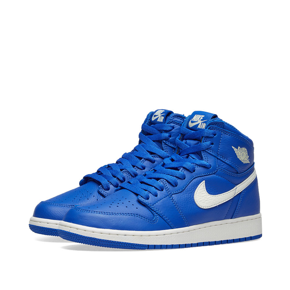 62c60d04003af2 Air Jordan 1 Retro High OG GS Hyper Royal   Sail