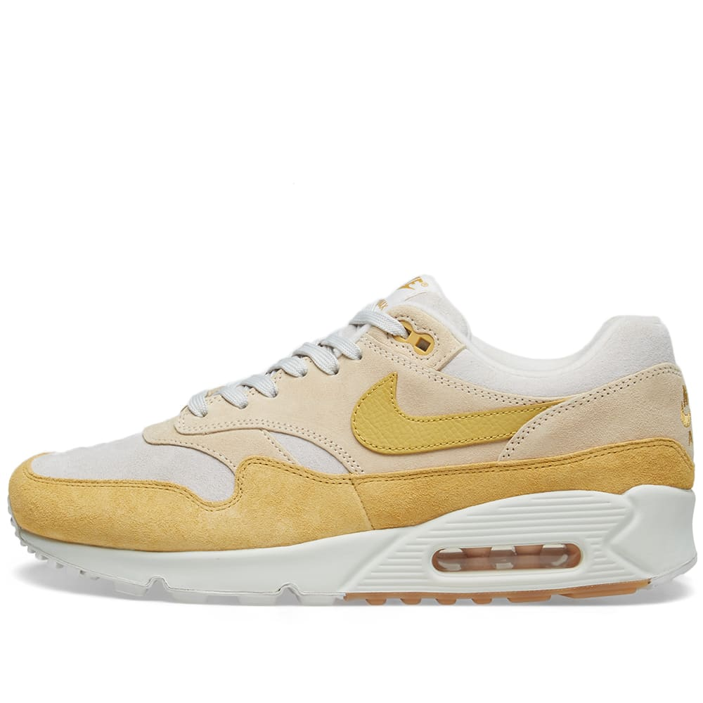 premium selection 9919d 8dc91 Nike Air Max 90 1 W Guava Ice, Gold, White   Gum   END.