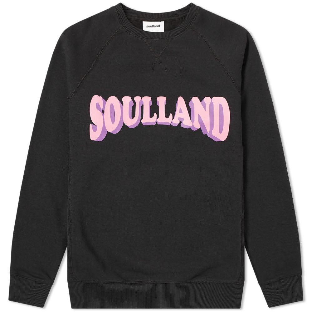 SOULLAND HOCKNEY CREW SWEAT