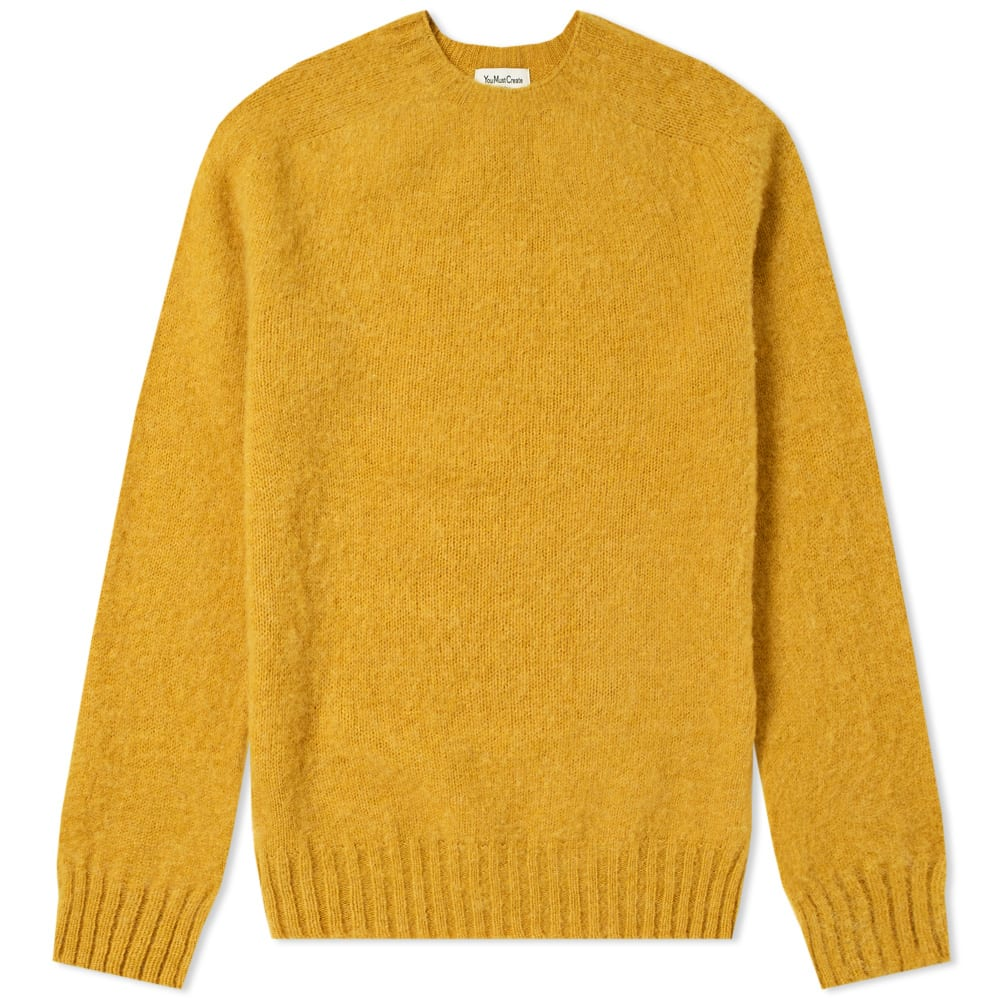 YMC YOU MUST CREATE YMC SUEDEHEAD CREW KNIT