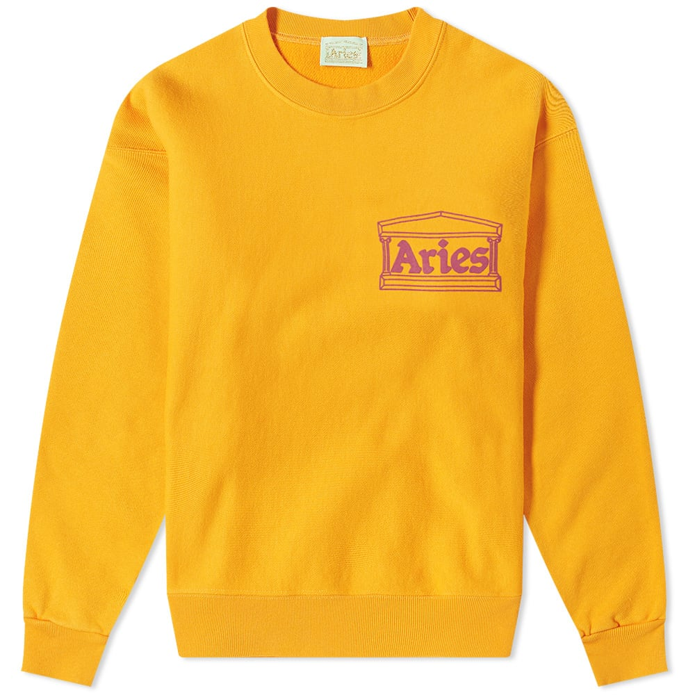 Aries Tops Aries Temple Logo Crew Sweat