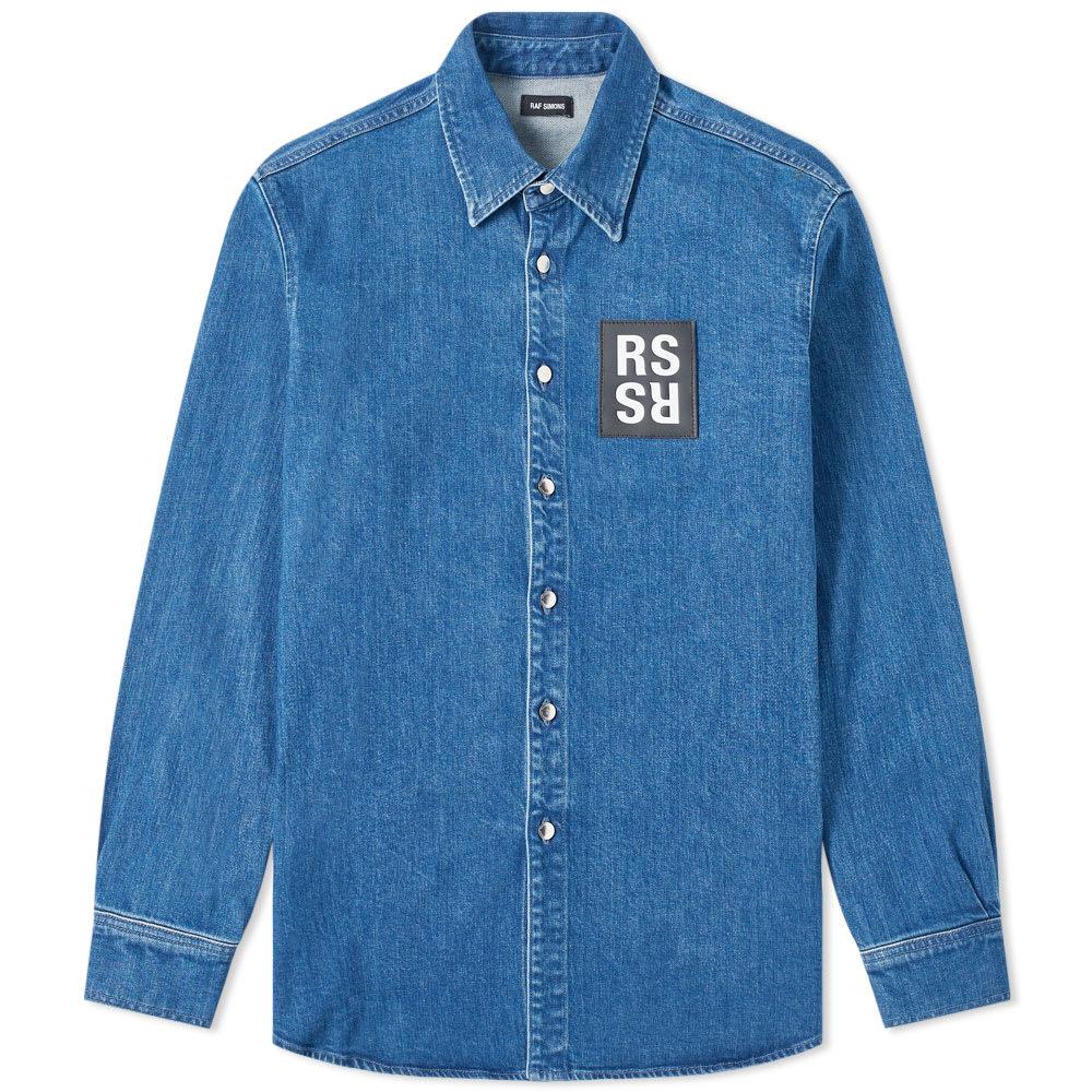 1a1f6da8305 Raf Simons Denim Shirt Jacket