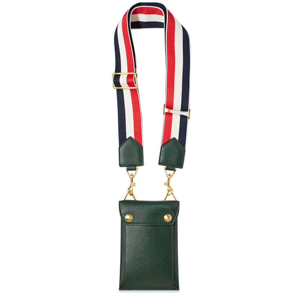 Thom Browne Leather Phone Holder Bag