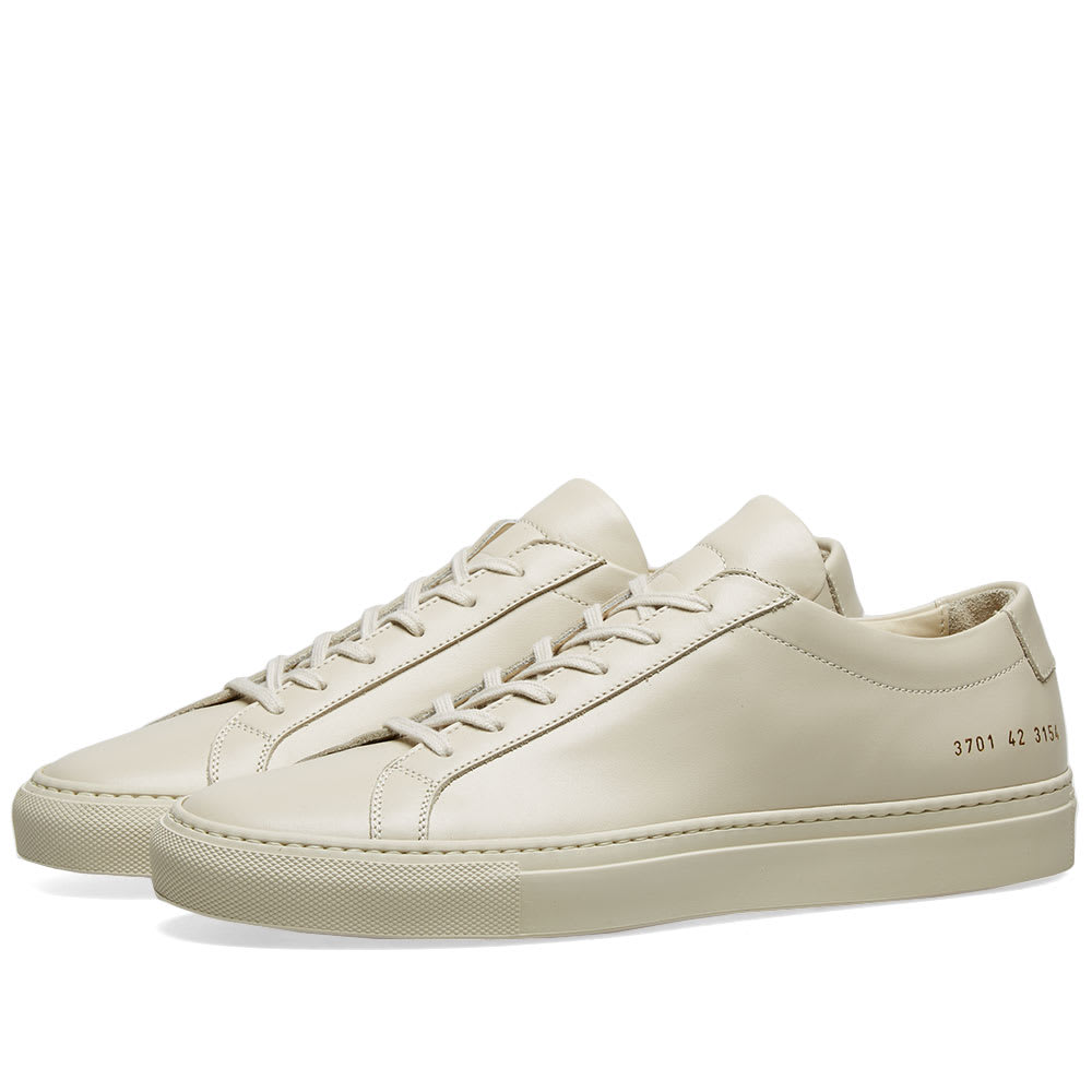 Common Projects Sneakers Original Achilles Low In Pelle In Neutrals