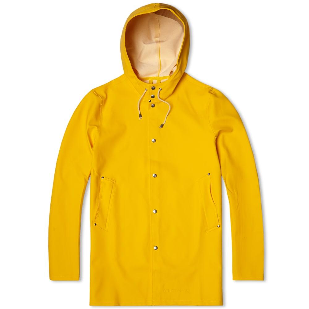 Stutterheim Stockholm Raincoat (Yellow)