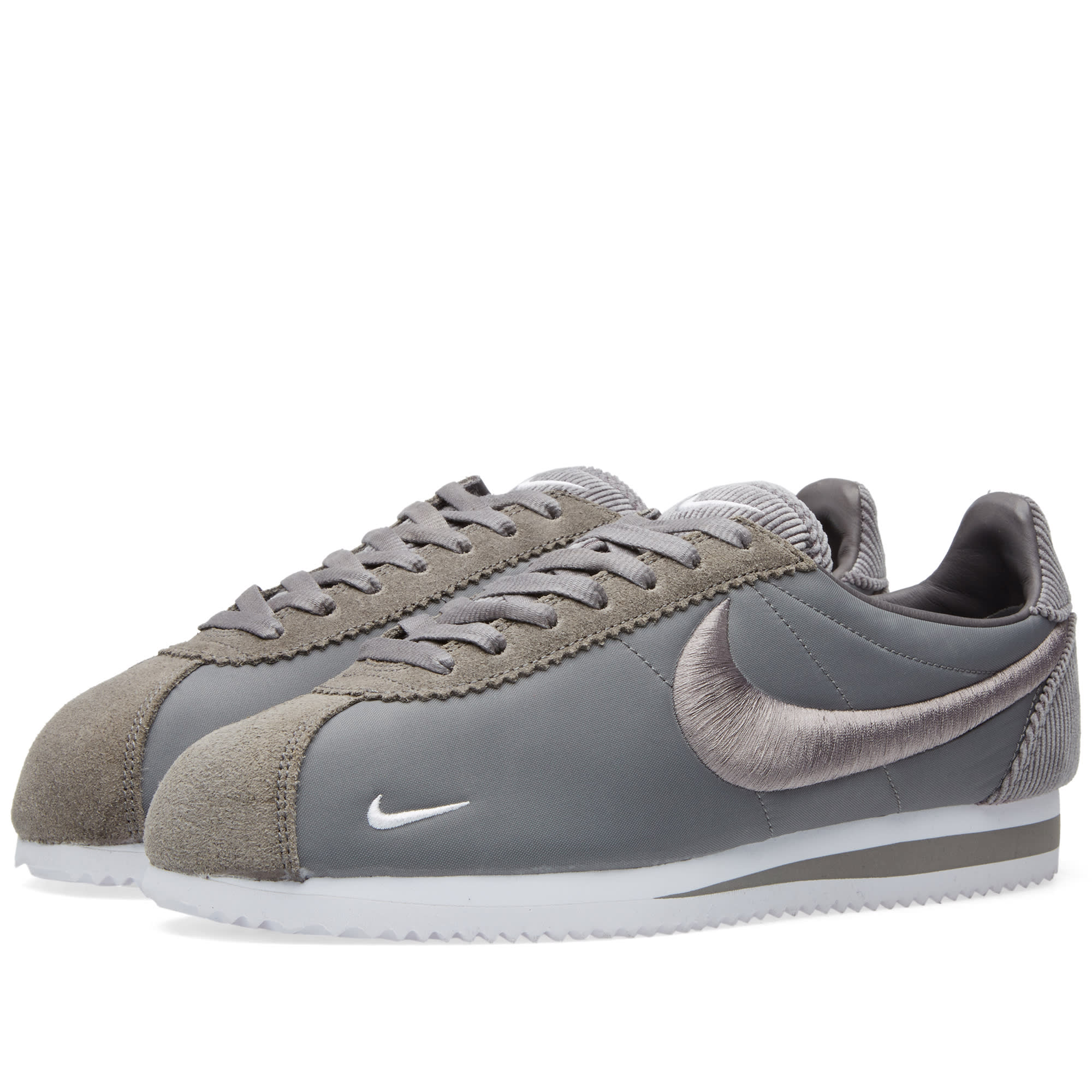 nike classic cortez sp canyon grey white. Black Bedroom Furniture Sets. Home Design Ideas