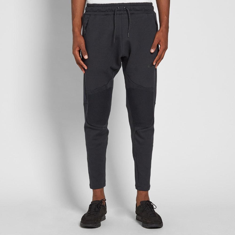 6c9dd0deacfd Nike Tech Fleece Panel Track Pant Black