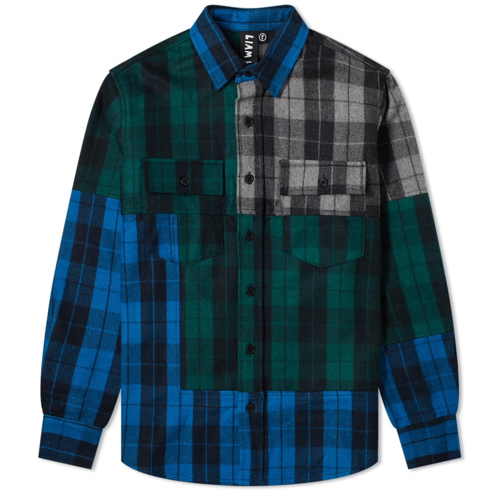 Liam Hodges Buffalo Check Overshirt