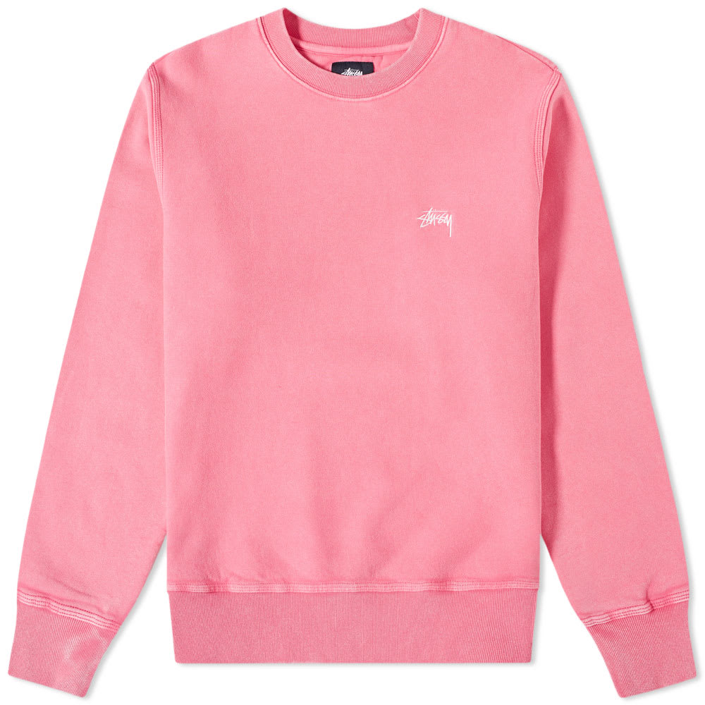Stuusy Stock Logo Crew Sweat