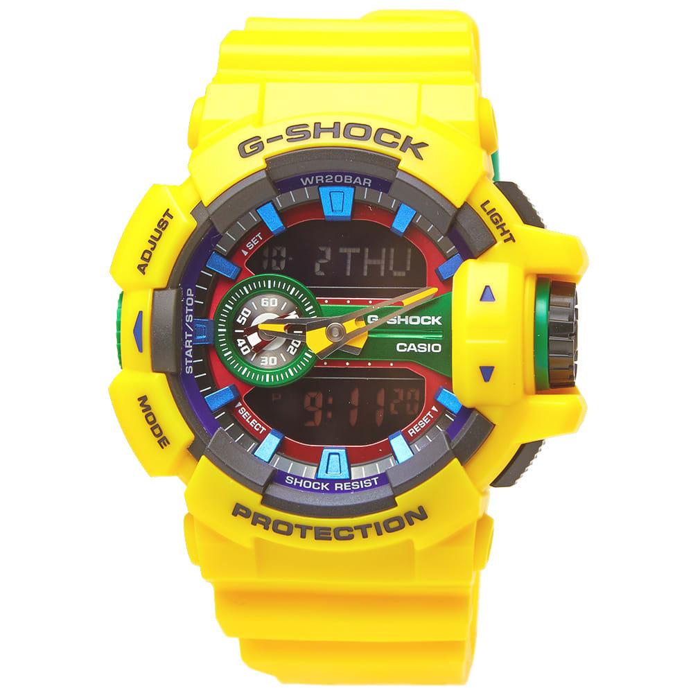 Casio G Shock Ga 400 9a Crazy Rotary Watch