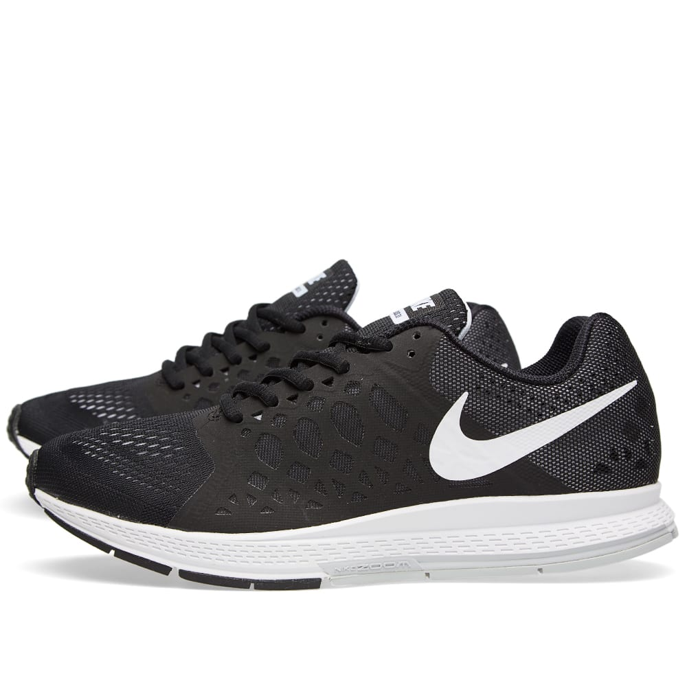 nike air zoom pegasus 31 black white. Black Bedroom Furniture Sets. Home Design Ideas