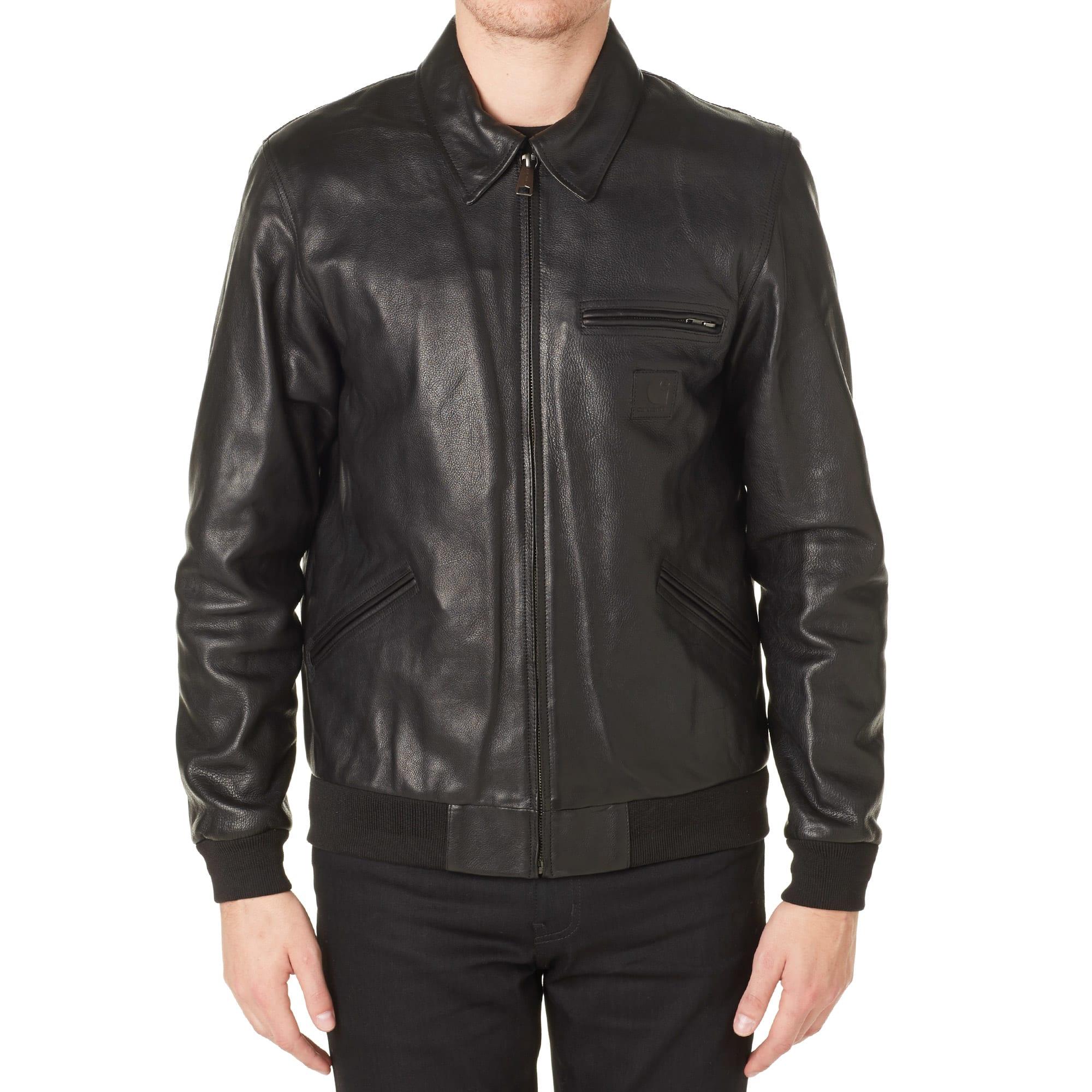 b1071a0d5 Carhartt Detroit Leather Jacket