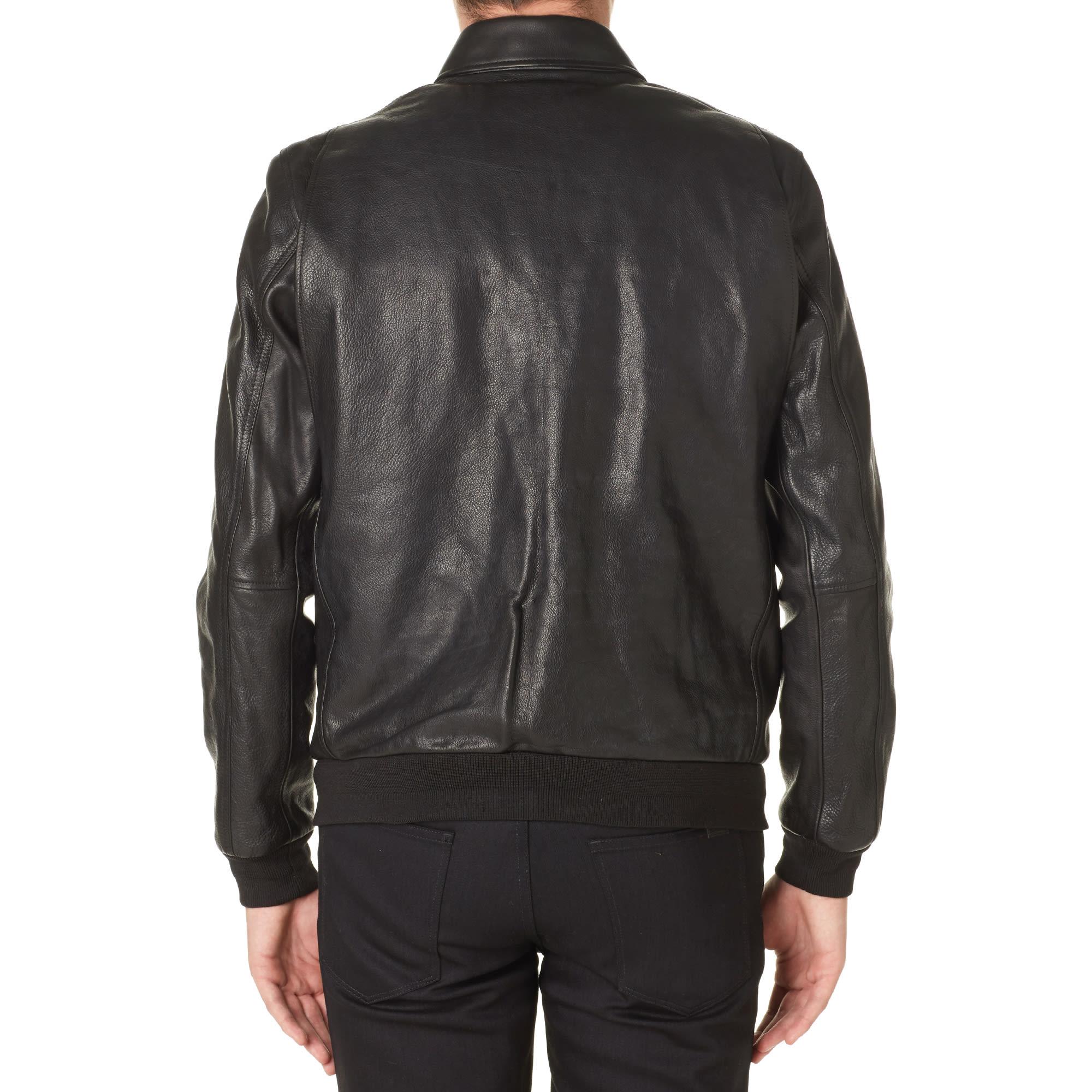 b4d75d2fed110 Carhartt Detroit Leather Jacket Black
