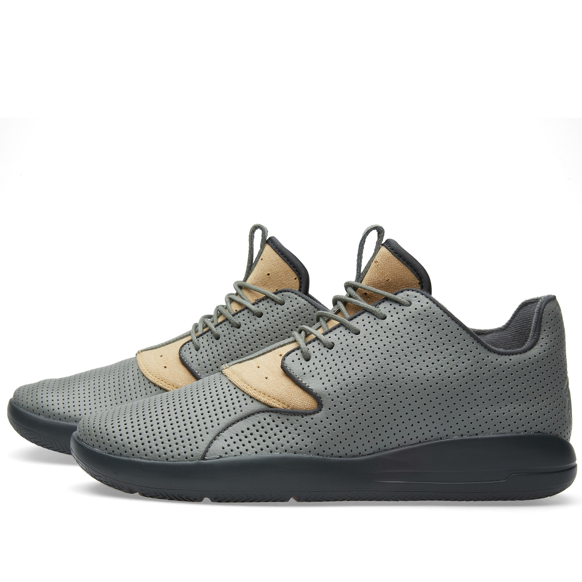 305c9be83bd6 Nike Jordan Eclipse Leather  Berlin  Tumbled Grey   Cinnabar