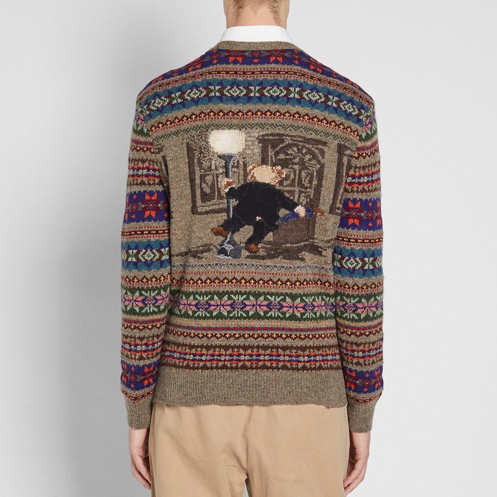 487a024c68f63 Polo Ralph Lauren Bear Isle Crew Knit Multi