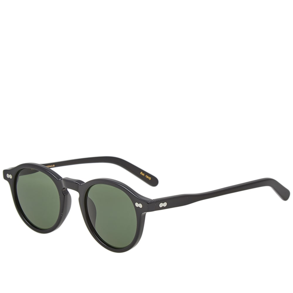MOSCOT Moscot Miltzen 46 Sunglasses in Black