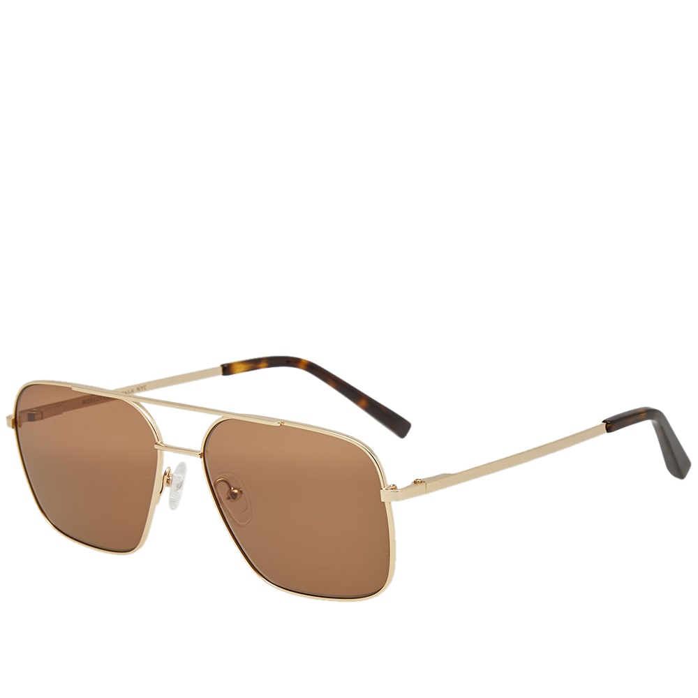 MOSCOT Moscot Shtarker 57 Sunglasses in Brown