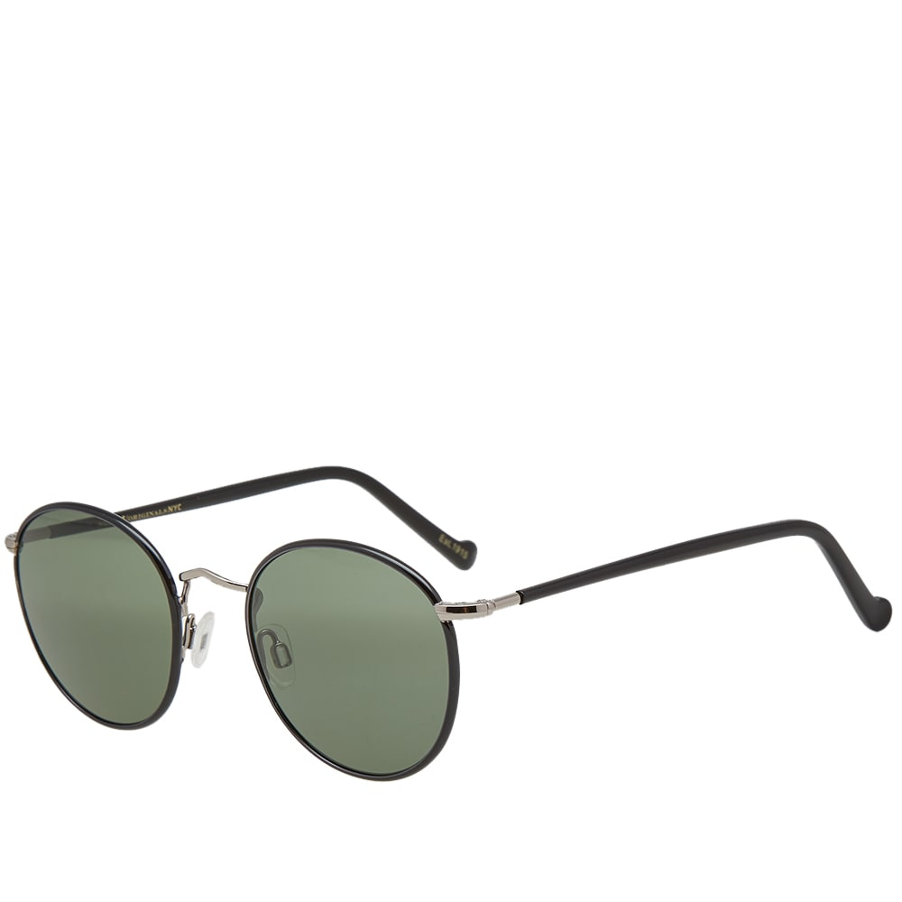 MOSCOT Moscot Zev 49 Sunglasses in Black