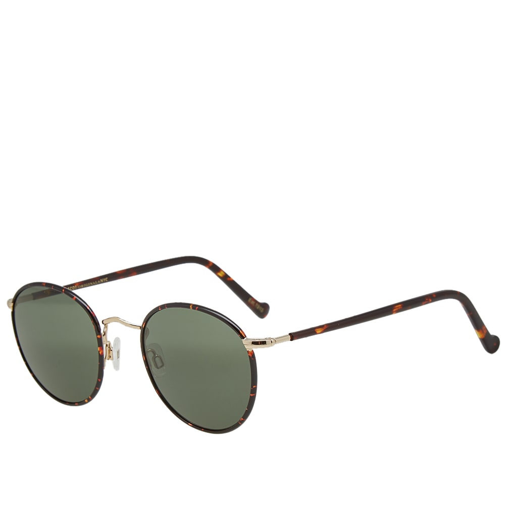 MOSCOT Moscot Zev 49 Sunglasses in Brown