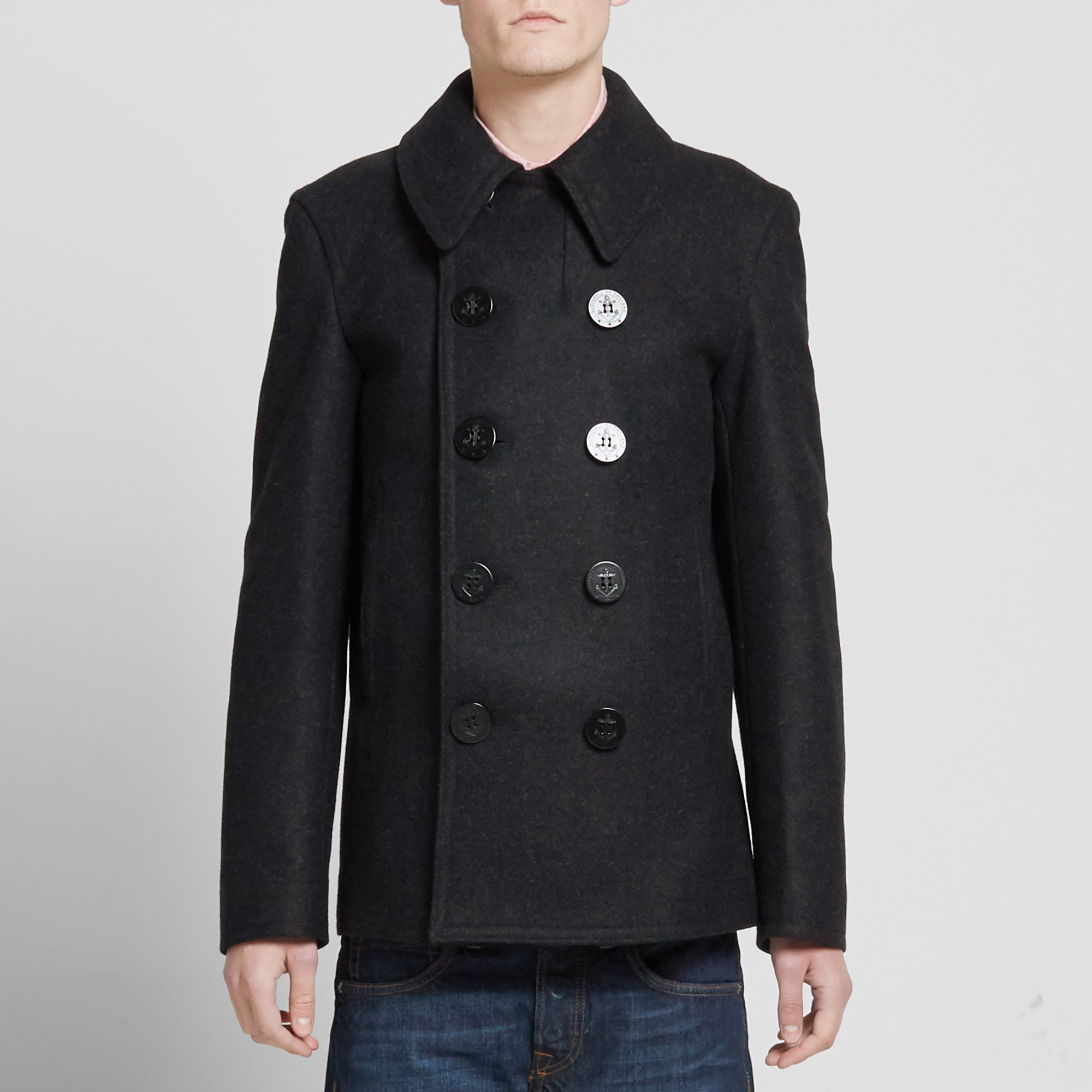 d8c33b50d Gloverall Reefer Pea Coat