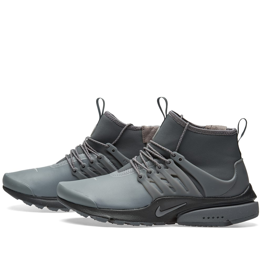 official photos d5aa7 d1c96 Nike W Air Presto Mid Utility Dark Grey   Reflect Silver   END.