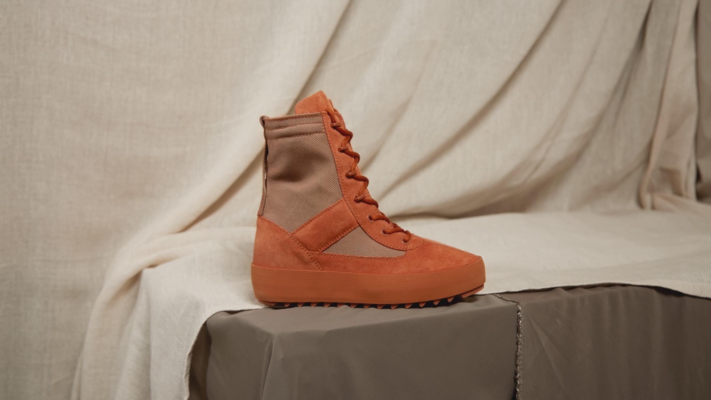 fcfeeed529b9e Yeezy Season 3 Women s Military Boot Burnt Sienna