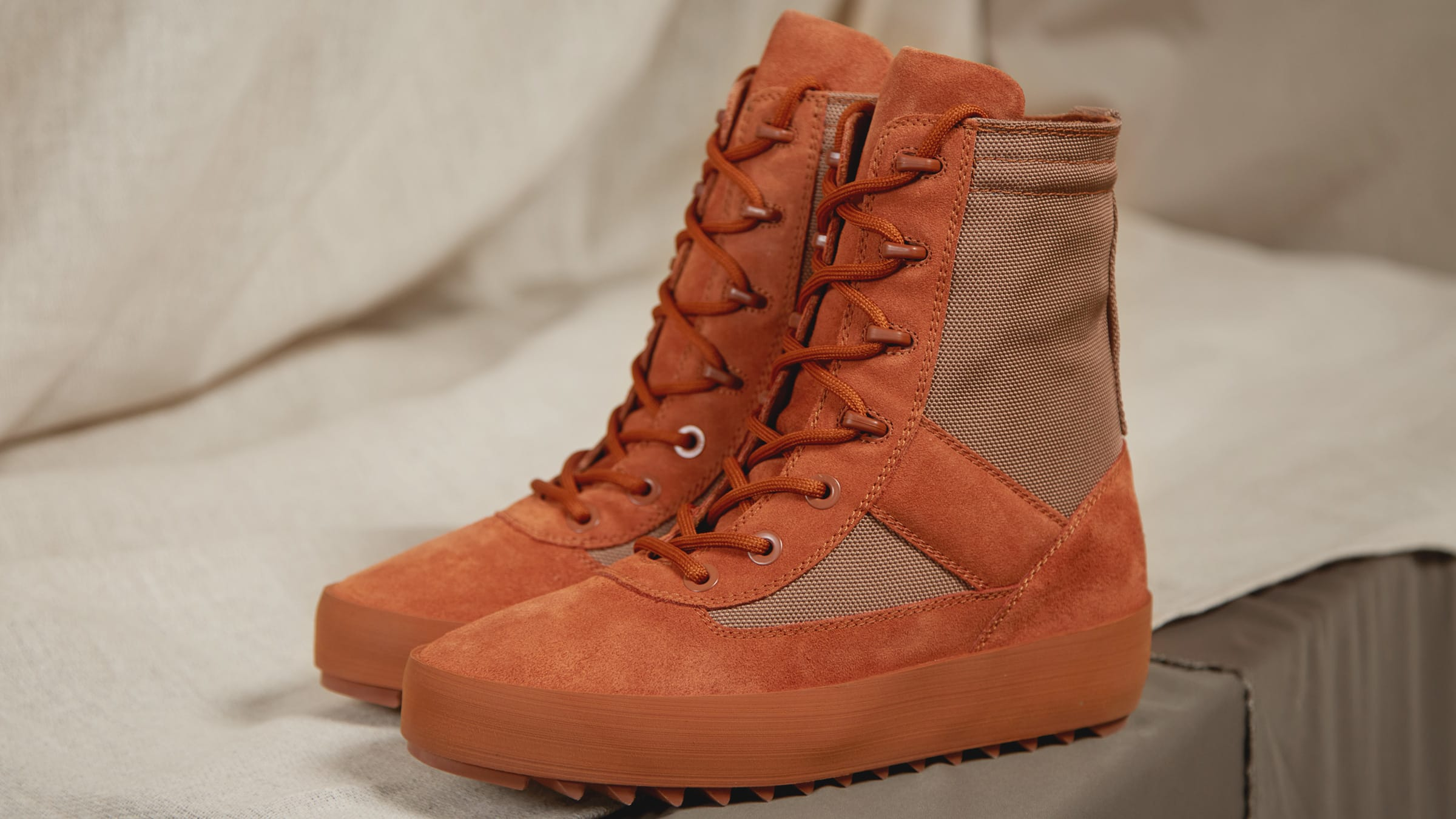 57f40f2ea40d4 Yeezy Season 3 Women s Military Boot Burnt Sienna