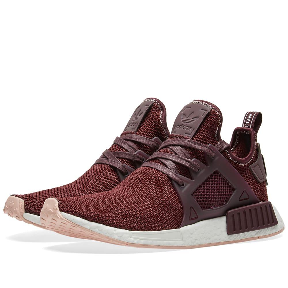fcc97049a Adidas NMD XR1 W Dark Burgundy   Vapour Pink