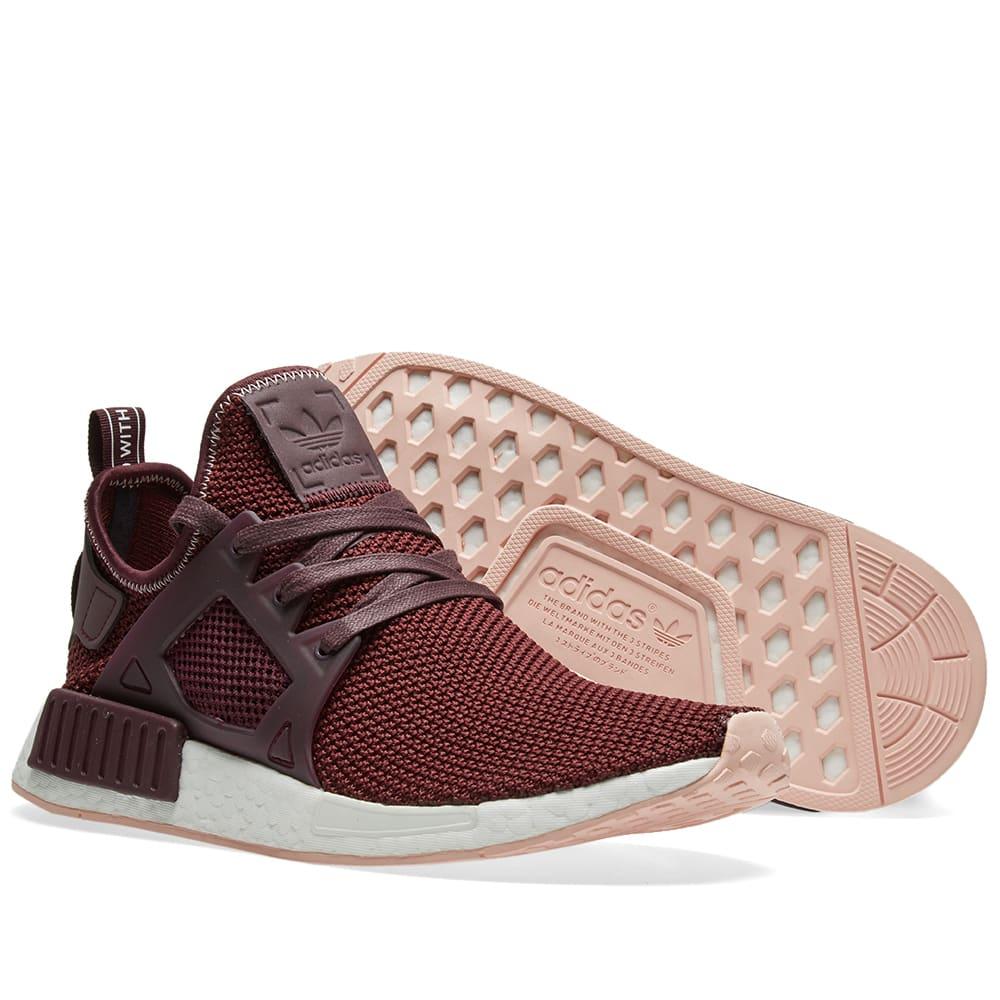 61563cd29 Adidas NMD XR1 W Dark Burgundy   Vapour Pink