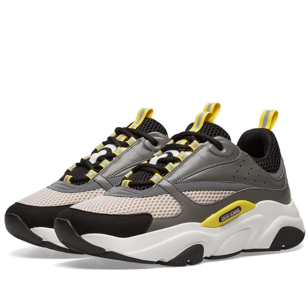 Shop Dior Homme B22 Oversized Sneaker In Grey 69d1f0426d1