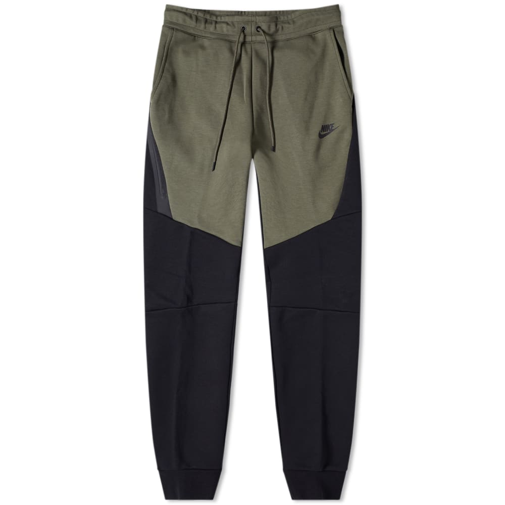 54680268d73d5 Nike Tech Fleece Jogger Black & Twilight Marsh | END.