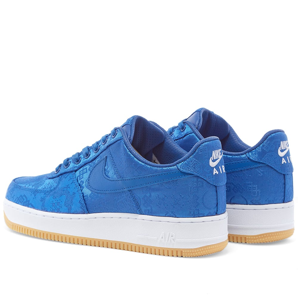 nike air force 1 clot blue silk