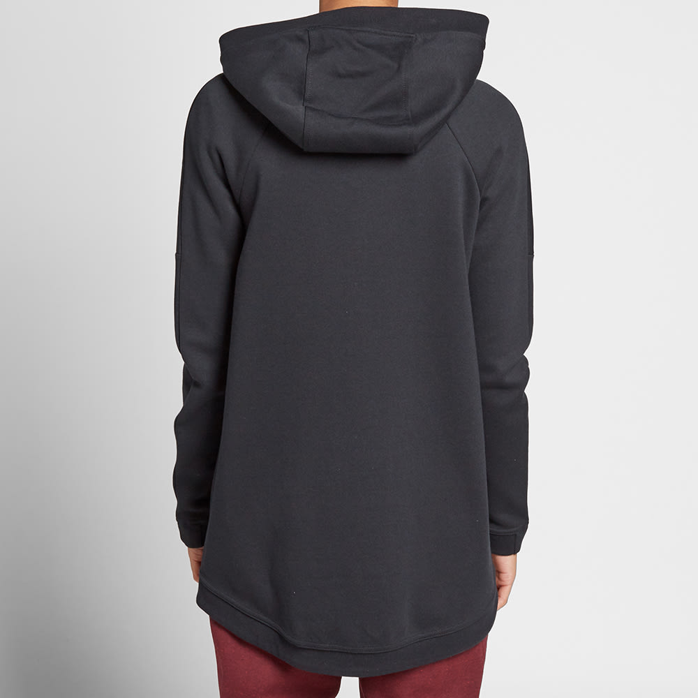 nike women 39 s tech fleece cape black. Black Bedroom Furniture Sets. Home Design Ideas