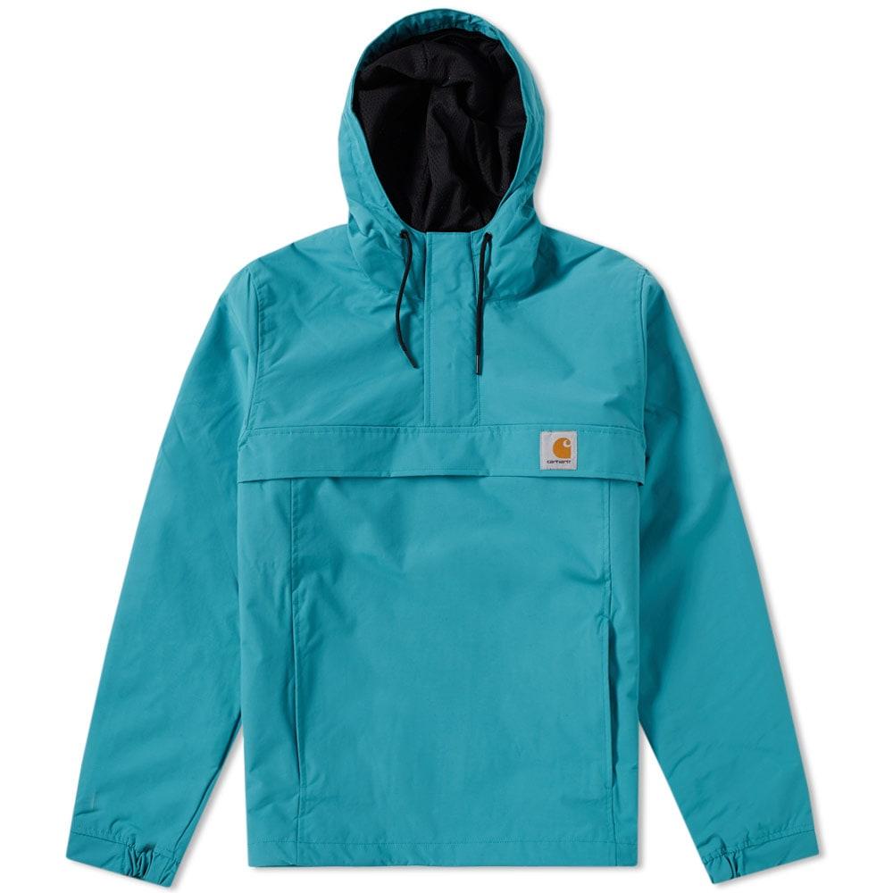 e0ef6f9f2c7 Carhartt Nimbus Pullover Jacket Soft Teal