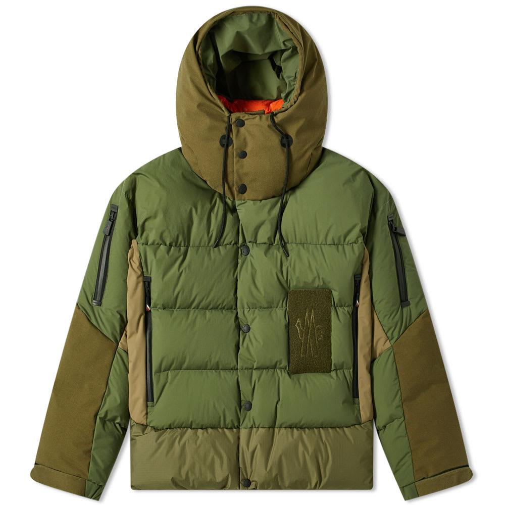 Moncler Grenoble Wiese Military Down Ski Jacket
