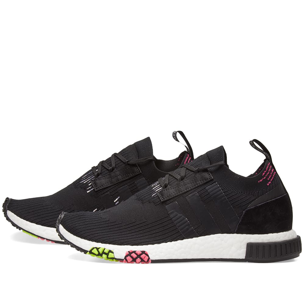 timeless design 4cb55 64233 Adidas NMD Racer PK Core Black   Solar Pink   END.