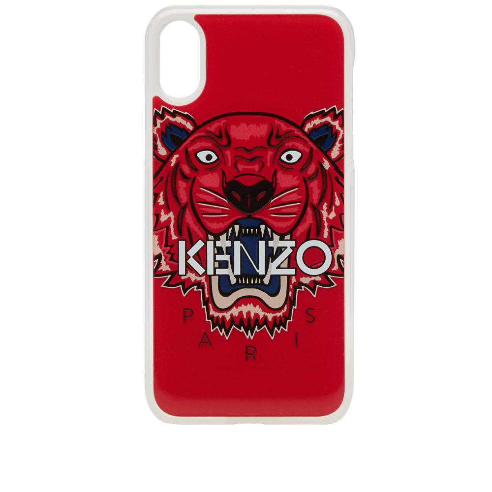 newest 762ab 3446f Kenzo Tiger iPhone X Case