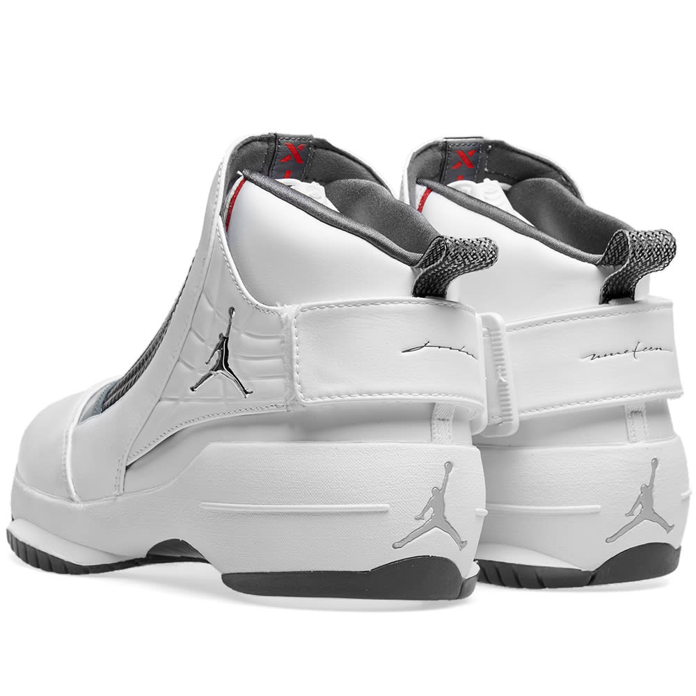 promo code 3bc72 e2199 Air Jordan 19 Retro White, Chrome   Flint Grey   END.