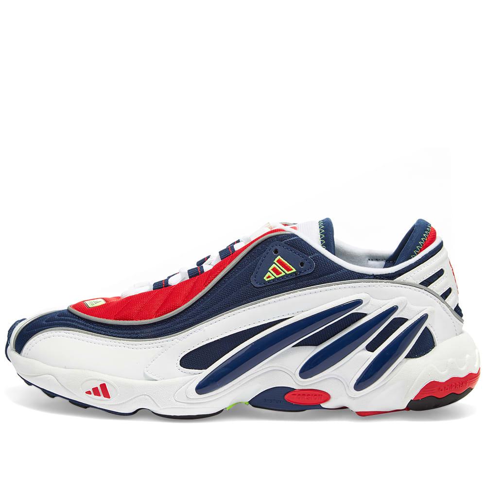 Adidas FYW 98 White, Blue \u0026 Yellow | END.