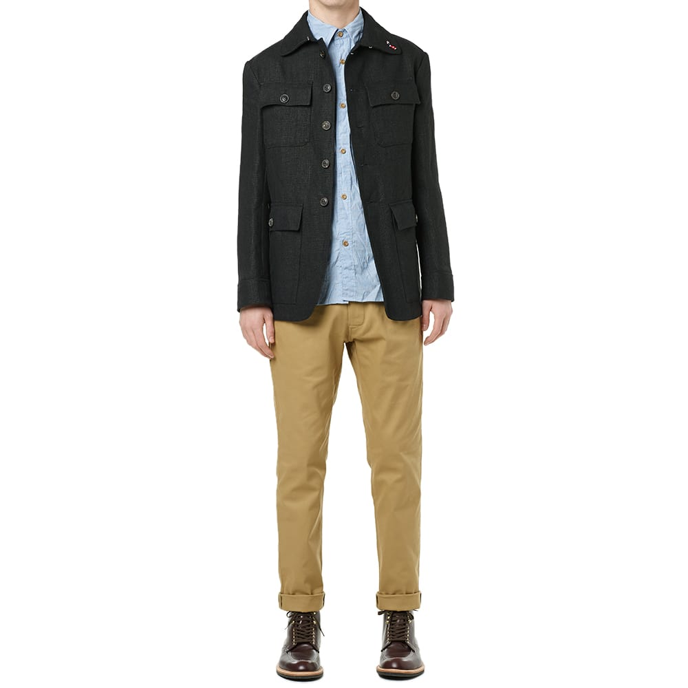 Nigel Cabourn Formal Pant (Khaki)