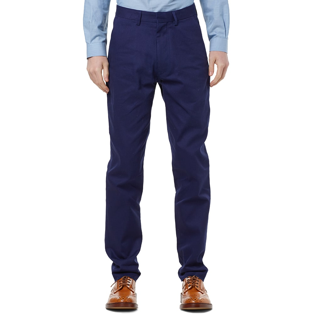 Nigel Cabourn Formal Pant (Work Blue)