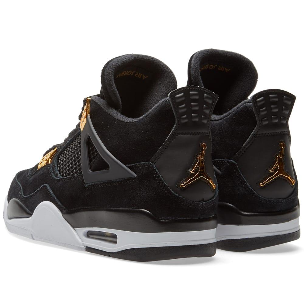 faa0a3645309d0 Nike Air Jordan 4 Retro  Royalty  Black
