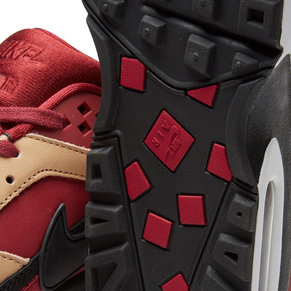 competitive price b233f c1eb5 Nike Air Max BW Premium Team Red, Black & Vachetta Tan | END.